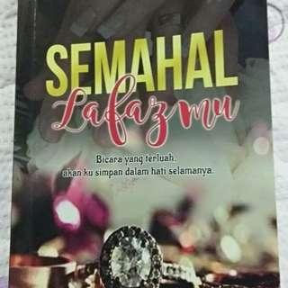 Novel Semahal lafazmu