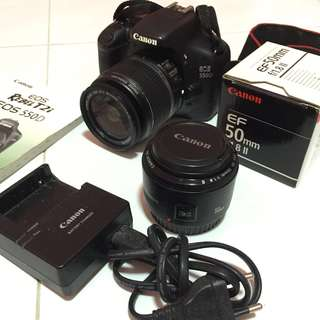 CHEAP Canon EOS 550D (50MM LENS INCLUDED)