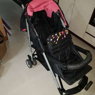 Used double pram for sale $80
