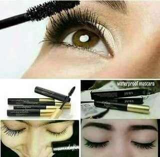 Mascara waterproof black