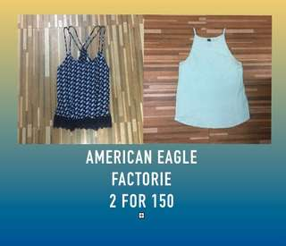 NEW American Eagle & Factorie Tops