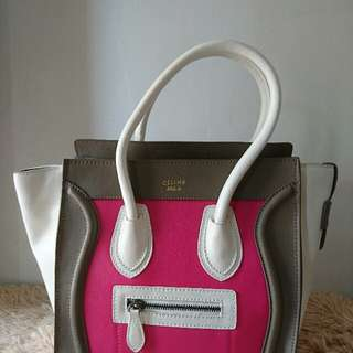 celine luggage with flaw