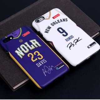 **NBA New Orleans Pelicans 新奧爾良塘鵝2017-2018球季城市版球員手機殼 **