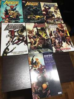 Marvel The Mighty Avengers graphic novel full set of 7