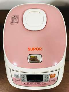 Supor Rice Cooker - Multifunctional Cooker/Rice Cooker/Porridge Cooker/Soup Cooker/Cake Baker/Faster-Slower Cooker