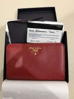 BRAND NEW Prada Saffiano Leather Wallet