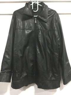 Leatherette Jacket For Men XL