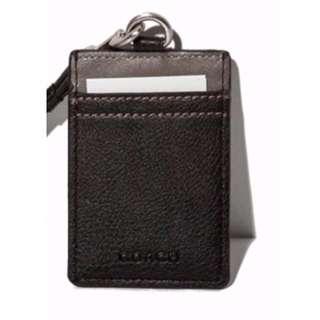 *GWP* (Black/Grey)  Bi-color Emboss Logo Lanyard / Card Holder + FREE POST