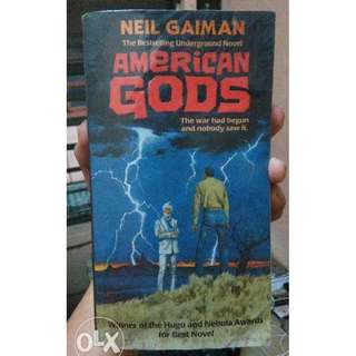 American Gods expanded edition by Neil Gaiman