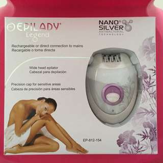 Epilady Legend Oval Rechargeable Epilator (Hair Remover)