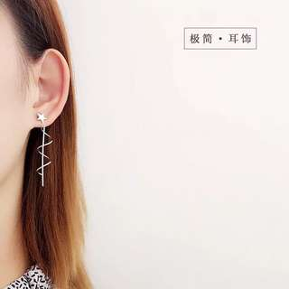 Buy 3 get 1 free 💋 Start and spring Earrings S925 sliver anti-allergy  💋純銀星星彈簧系列耳環 防敏感