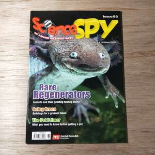 Science Spy Magazine Issue 65