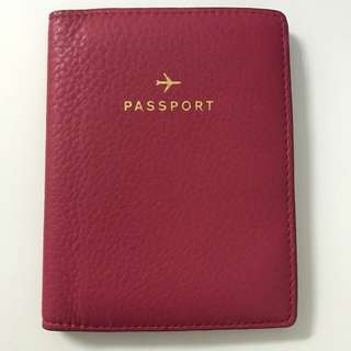 Fossil Passport Holder