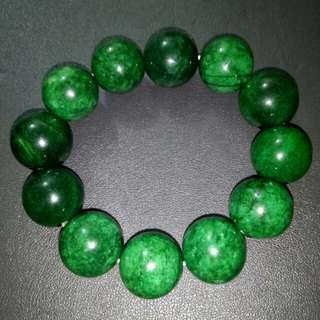 Green Jade  and  Amulet