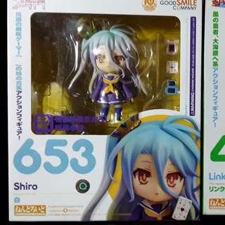 Nendoroid Shiro and Sora