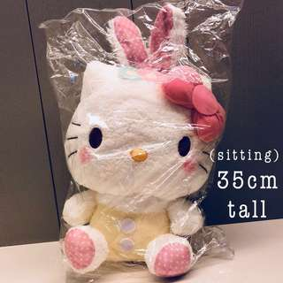 Hello Kitty Plush- rabbit ears