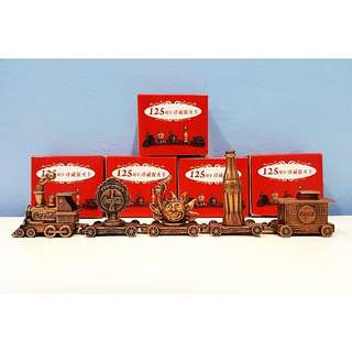Coca Cola 5 in 1 Metal Train Collection Set