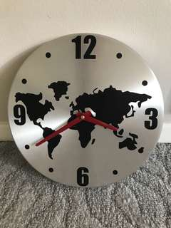 IKEA World Wall Clock