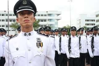 Singapore Police Force No.1 Uniform