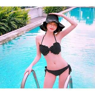 正韓製夏季必備獨特不收邊設計漁夫帽  hat ( CHUU 官網代購 ) 遮陽 帽子 野餐 抽鬚 素色 百搭