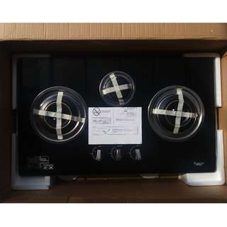 Rubine NEW 3 Burners Glass Hob RGH-VENOSA3B for sell