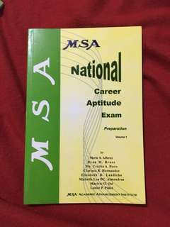 MSA - NCAE Preparation with free Cattleya Intermediate Pad