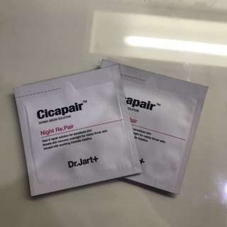 Dr.Jart Cicapair Night Repair (2) + Innisfree Pomegranate Sample