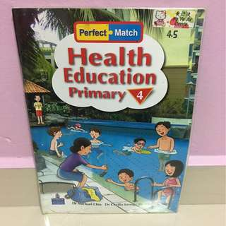 P4 Health Education Textbooks