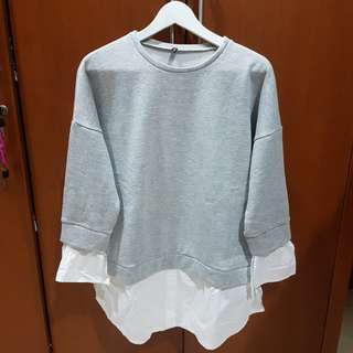 NEW! Sweater Shirt Grey