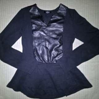 Korean Black long sleeves