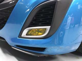 Fog light yellow tinting available