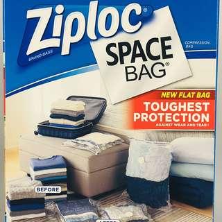 台灣包郵代購·Ziploc Space Bag 真空收納袋14入