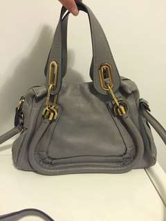 Chloé Paraty Tote bag in cashmere grey