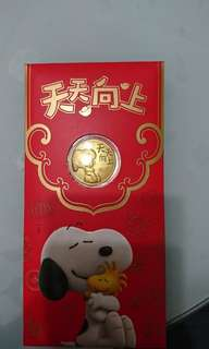 Snoppy Gold Coin 999gold 0.1g