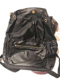 Black color backpack
