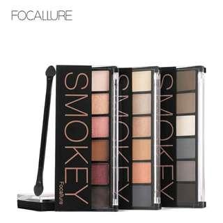 PREORDER Focallure Eyeshadow Pallete Smokey