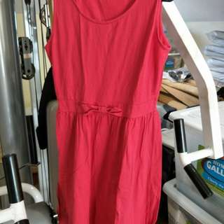 Dorothy Perkins Red Cotton Dress