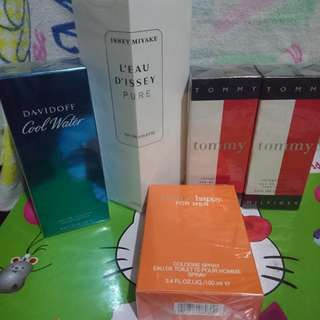 Perfumes - authentic tester perfumes