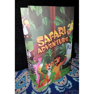 Safari Favor Paper Bag