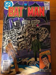 Batman no 304 oct 1978