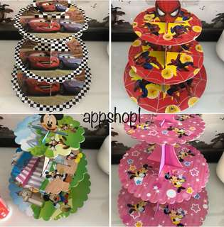 Birthday party cupcake stand- goodies bag, goody bag gift with appshop1