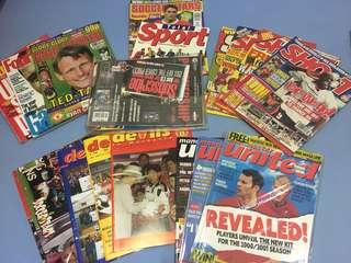 Mix Titles Football Magazines