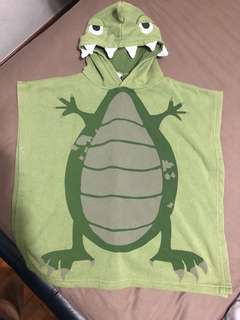Next Dino Beach Poncho 9 months to 2 years ( Preloved)
