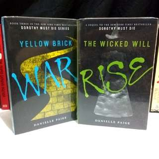 The Wicked Will Rise and Yellow Brick Wars by Danielle Paige