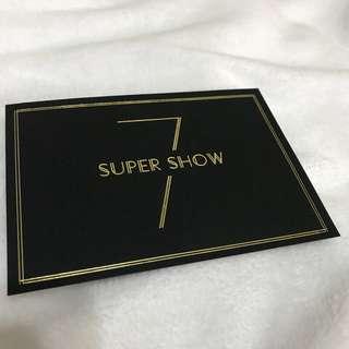 SUPER JUNIOR SUPER SHOW 7 in TAIPEI 邀請卡