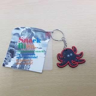 🚚 IRIS BARCELONA 章魚鑰匙圈