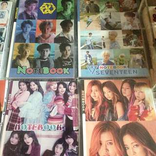 K-Pop Notebook
