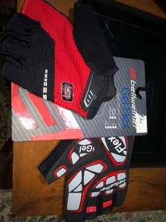 Bellwether Gel Flex road cycling gloves. (XXL) (Ferrari)