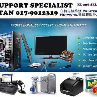 Format PC computer laptop repair service KL