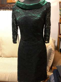 JJ's House formal green and black dress - Brand new with tags